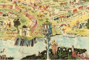 An Ancient Mappe of Fairyland, Newly Discovered and Set Forth